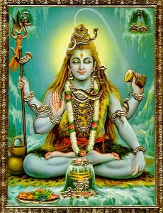 Representation of Lord Shiva in the Human Form