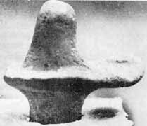 A Terracotta Linga from Kalibangan (2600 BC)